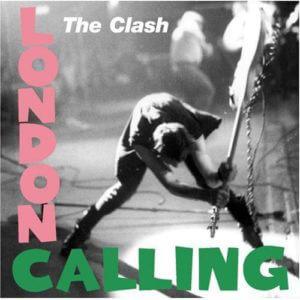 """The Clash """"London Calling"""" Album Cover"""