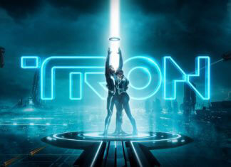 """Tron: Legacy"" locandina film"