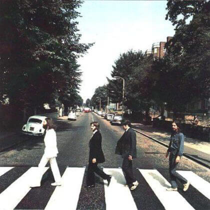 Abbey Road Foto #2 © Iain Macmillan