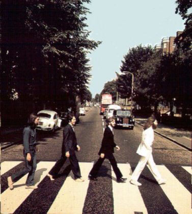 Abbey Road Foto #3 © Iain Macmillan