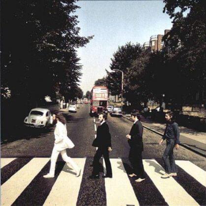 Abbey Road Foto #4 © Iain Macmillan
