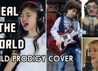 Heal The World Child Prodigy Cover
