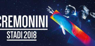 Cesare Cremonini Stadi 2018 Tour
