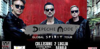 Depeche Mode Global Spirit Tour Collisioni Festival Barolo