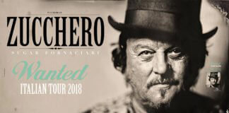 Zucchero Sugar Fornaciari Wanted Tour 2018
