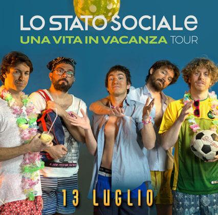 Rock in Roma 2018 - Lo Stato Sociale - 13 luglio