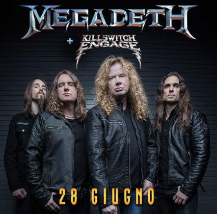 Rock in Roma 2018 - Megadeth - 28 giugno