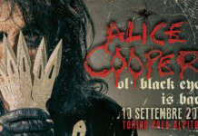 Alice Cooper - Ol' Black Eyes is Back - Torino - Pala Alpitour - 10 settembre 2019
