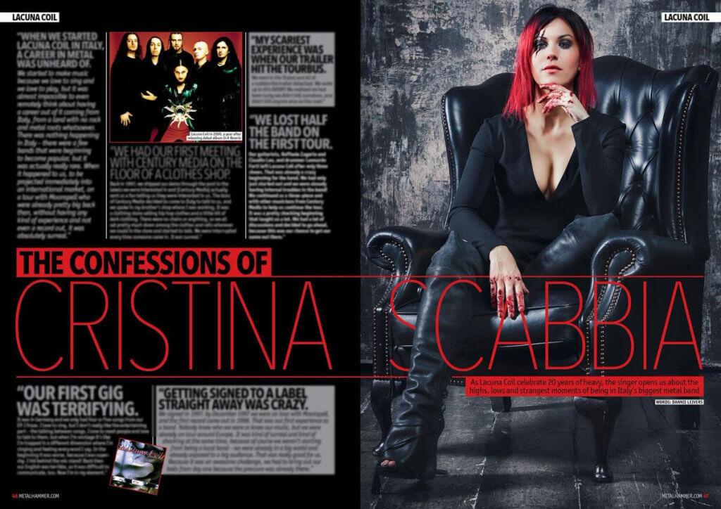 Cristina Scabbia - Metal Hammer