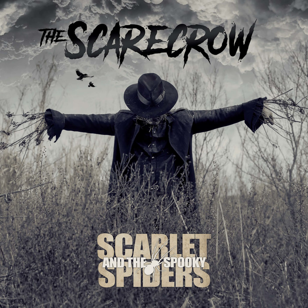 Scarlet and the Spooky Spiders – The Scarecrow – Album Cover